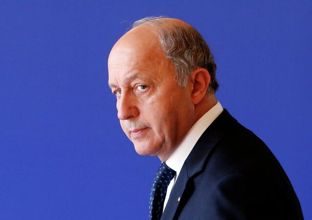 Laurent Fabius. Archive photo