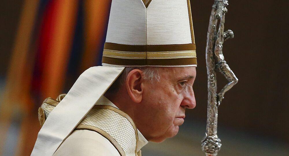 Pape François. Archive photo