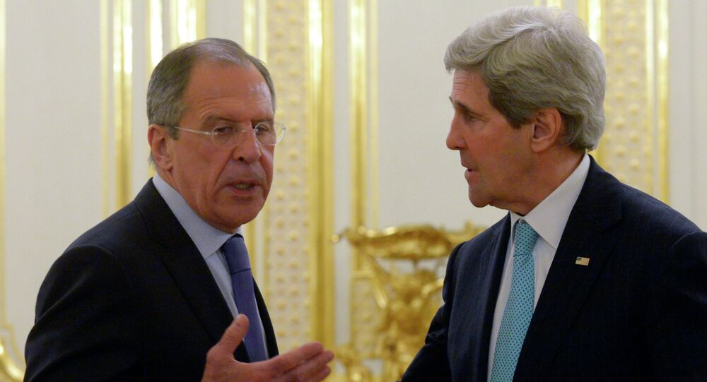 Sergei Lavrov et John Kerry. Archive photo