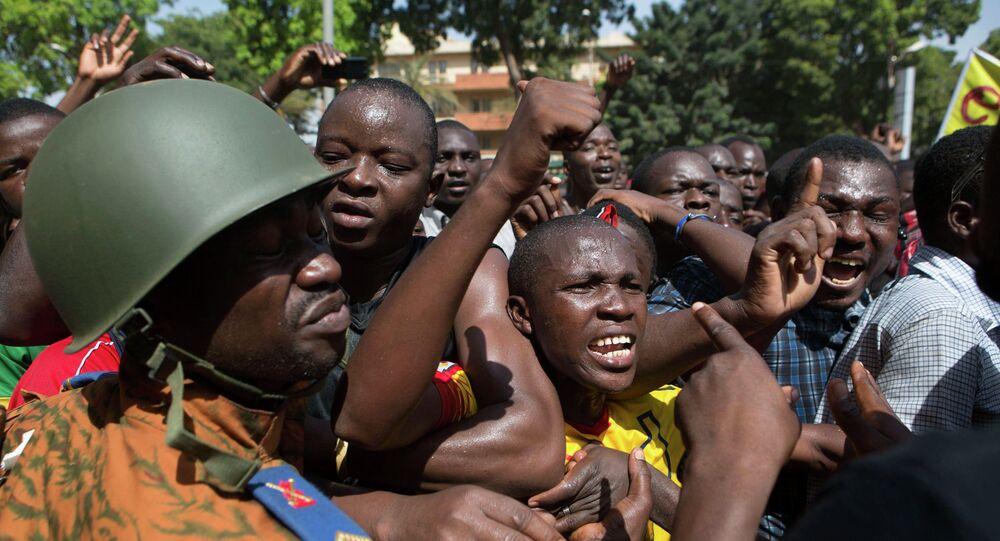 Ouagadougou, capitale de Burkina Faso