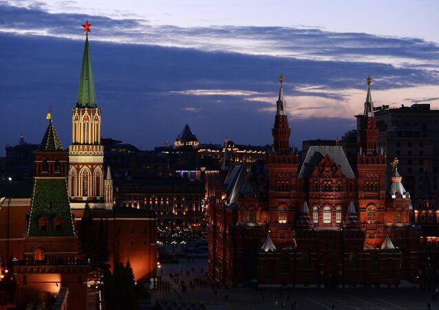 Heure de la Terre 2017 à Moscou