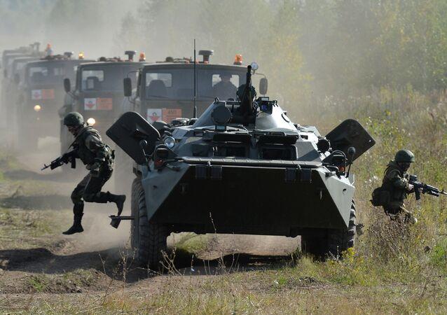 En images: les exercices stratégiques russes Centre 2015