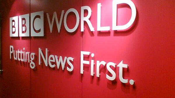 La chaîne de télévision BBC - Sputnik France
