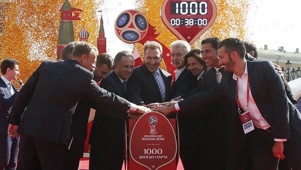 J-1000 avant la Coupe du monde de football 2018 - Sputnik France
