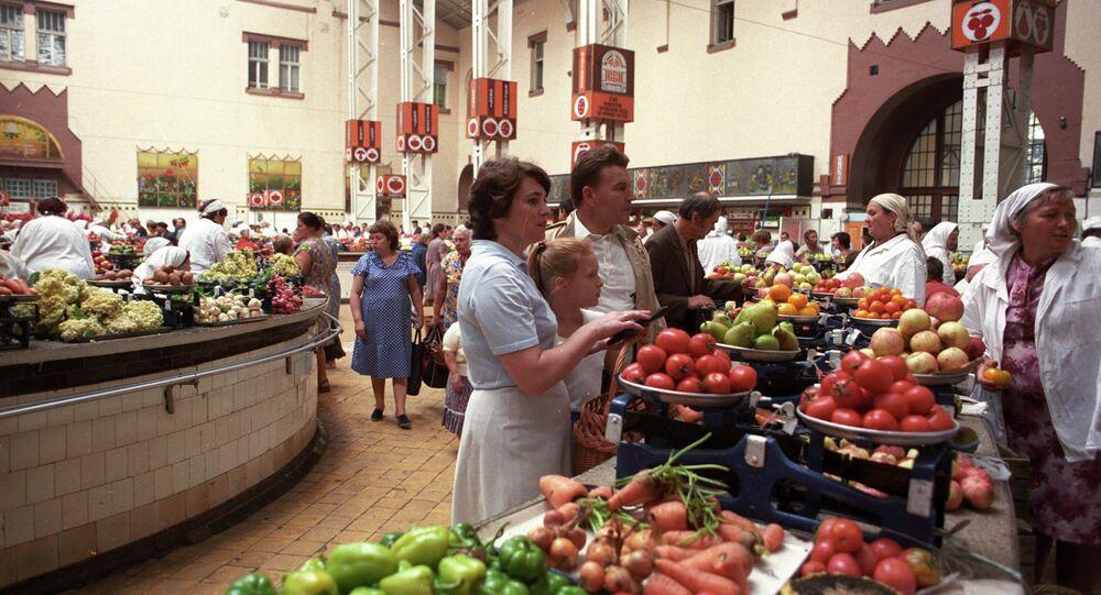 Un marché de Kiev (archives)