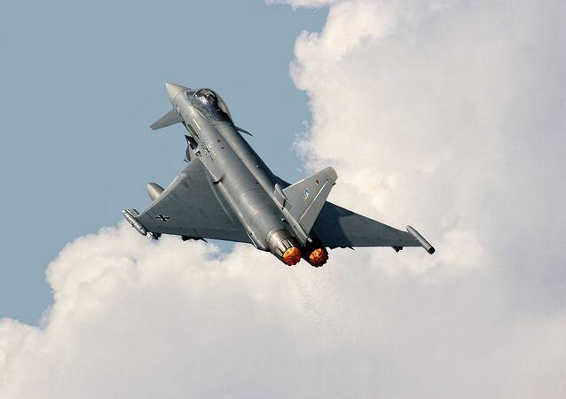 Un Eurofighter Typhoon S allemand