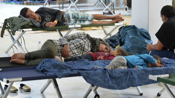 Des réfugiés en Allemagne - Sputnik France