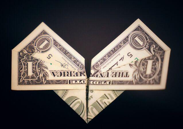 Un billet de dollar