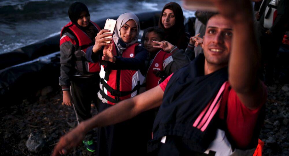 Réfugiés syriens en Grèce