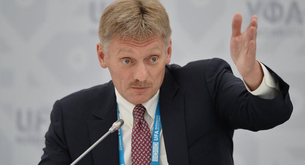 Le porte-parole du Kremlin, Dmitri Peskov