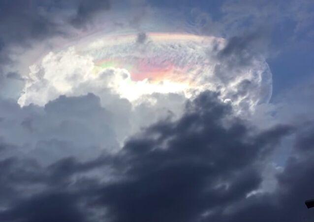 Un curieux phénomène dans le ciel du Costa Rica