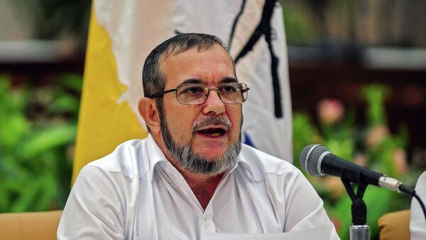 le chef des FARC (Les Forces armées révolutionnaires de Colombie) Timoleon Jimenez - Sputnik France