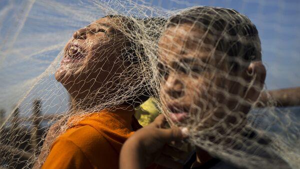Enfants palestiniens - Sputnik France