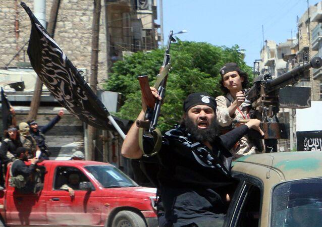 Combattants du Front al-Nosra, branche syrienne d'Al-Qaïda
