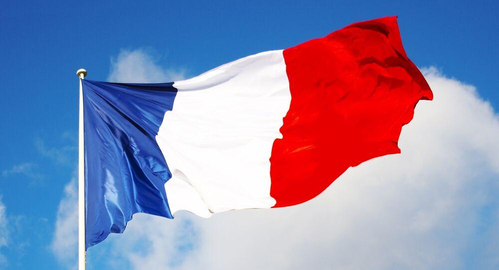Un drapeau français