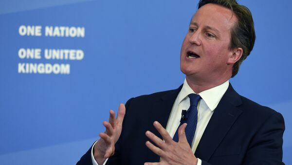 David Cameron - Sputnik France