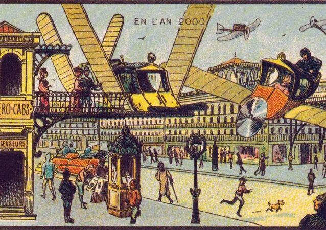 Comment nos ancêtres voyaient le XXIe siècle? Aérotaxi