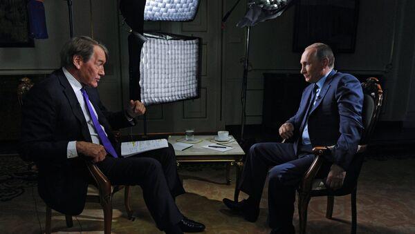 Vladimir Poutine a accordé une interview au journaliste américain Charlie Rose - Sputnik France