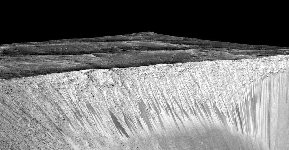 Les énigmes de Mars