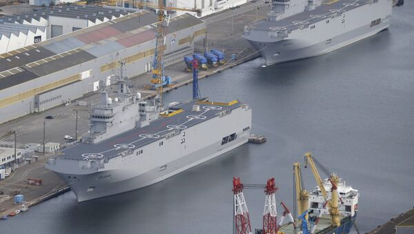 Les deux BPC de classe Mistral construits pour la Russie, mais revendus à l'Egypte - Sputnik France