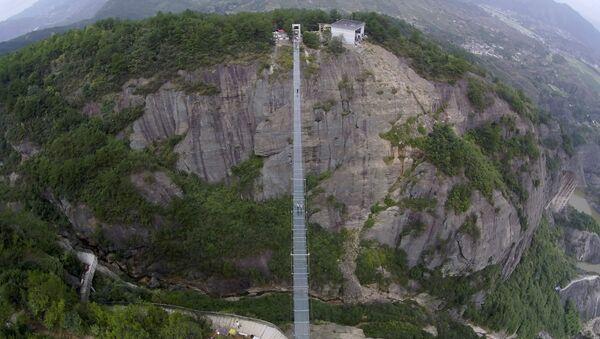 Pont de singe en Chine, image d'illustration - Sputnik France