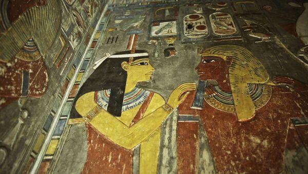 A la recherche de la sépulture de Néfertiti. Le tombeau de Toutankhamon à Louxor - Sputnik France