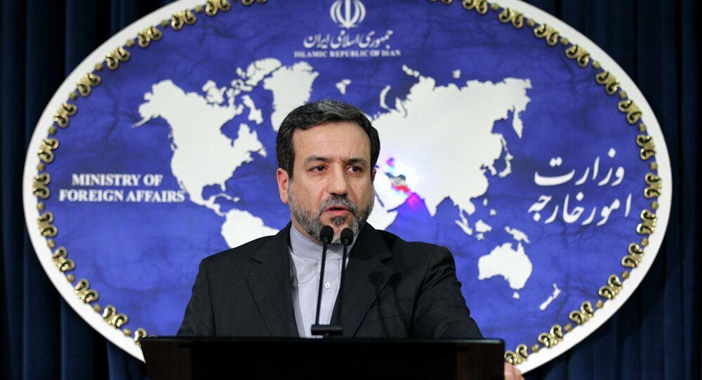 vice-premier ministre iranien des Affaires étrangères Abbas Araghchi