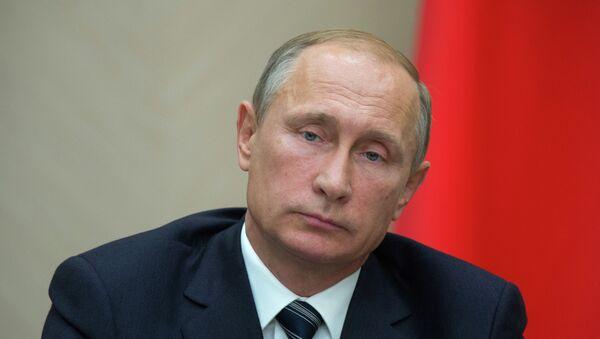 Президент РФ В.Путин провел совещание с членами правительства РФ - Sputnik France