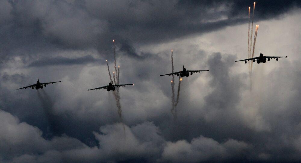 Russian Air Force. Sukhoy 25