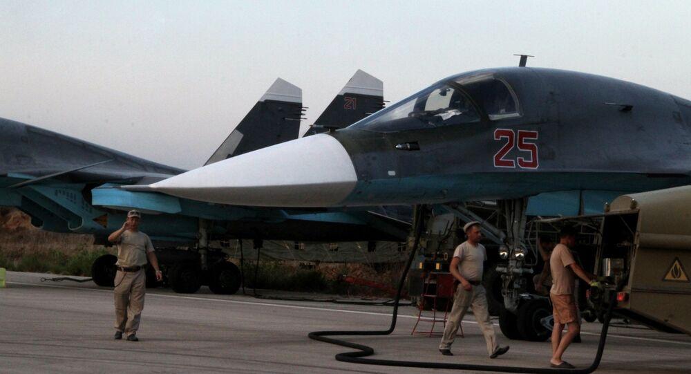 Avions militaires russes en Syrie