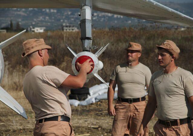 Des militaires russes à Hmeimim
