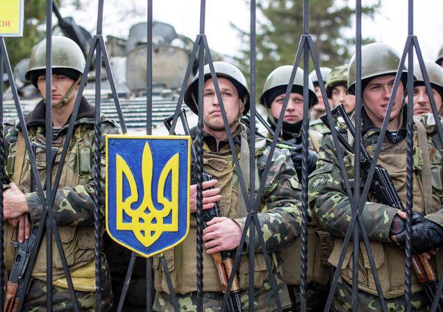 Les soldats ukrainiens