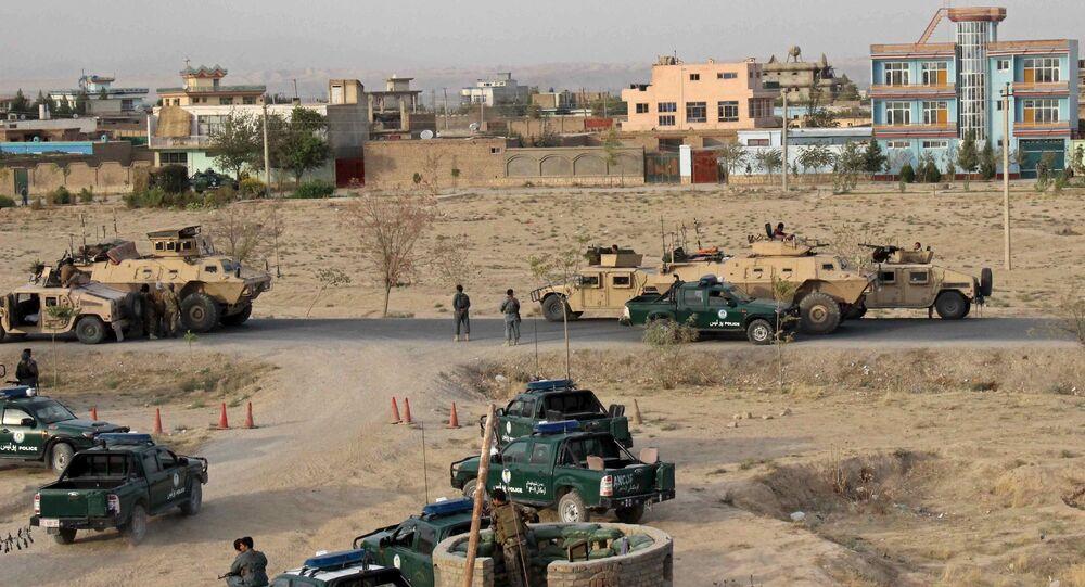 Forces armées en Afghanistan, Septembre 29, 2015.