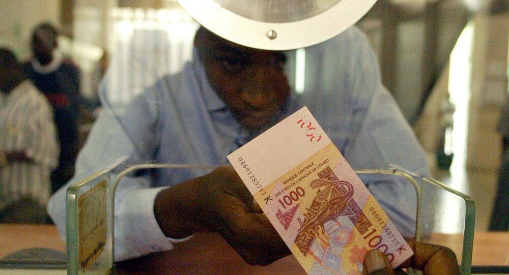billet de 1000 francs CFA