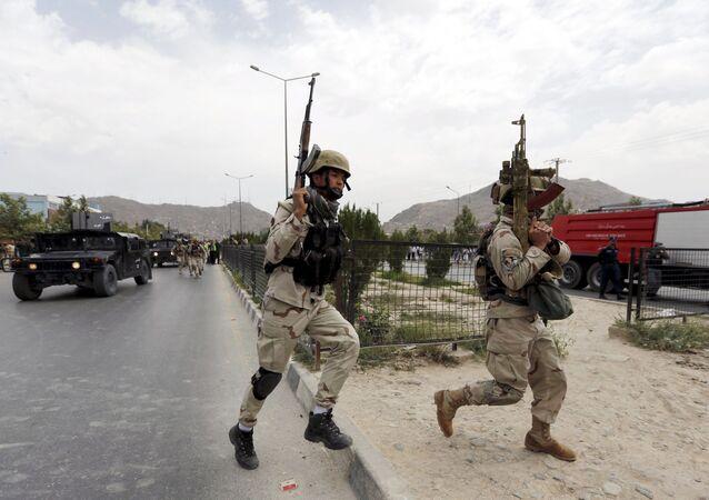 Les militaires en Afghanistan, l'image d'illustration.