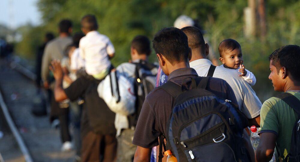 Migrants, Serbie