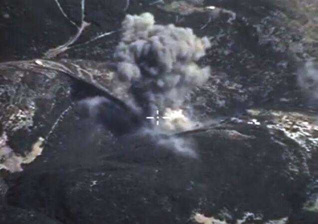 Frappes aériennes  russes contre l'EI en Syrie