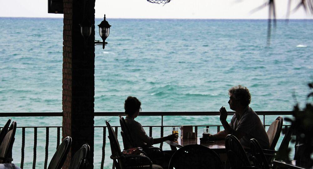 Turquie, un café