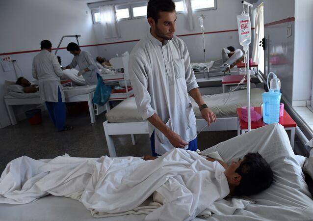 Hôpital de Kunduz: des enfants parmi les victimes