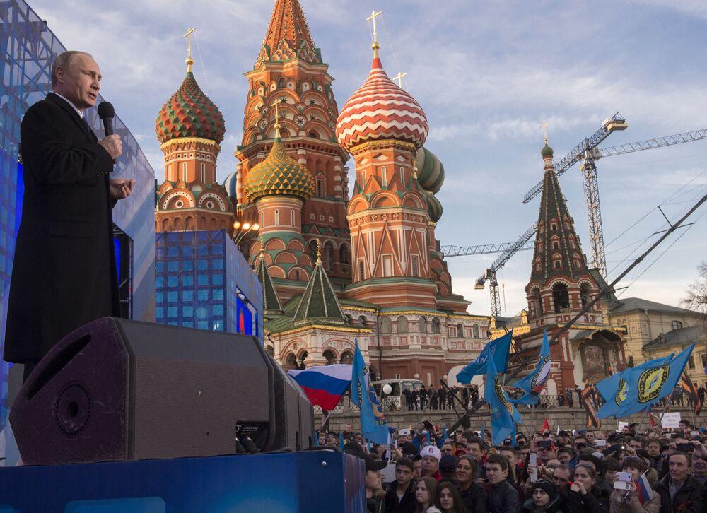 Une année de la vie de Vladimir Poutine