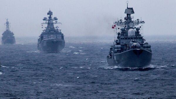 Des navires de la Marine russe - Sputnik France