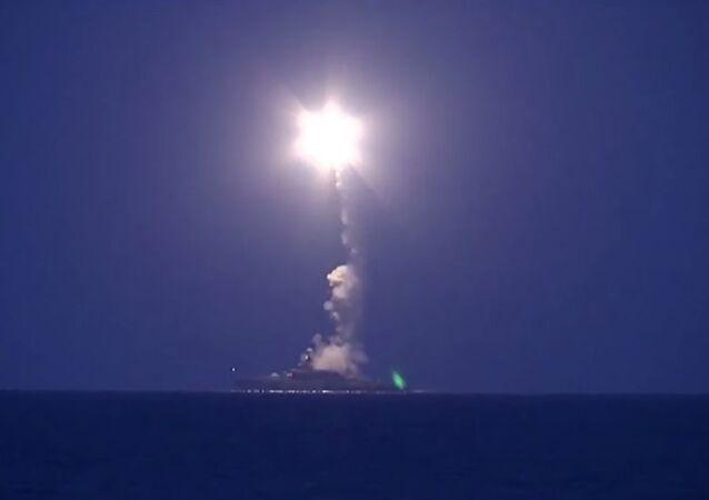 La Marine russe frappe l'Etat islamique depuis la mer Caspienne