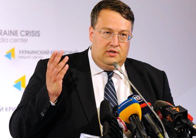 Anton Guerachtchenko, conseiller du ministre ukrainien de l'Intérieur