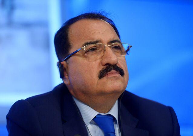 Riad Haddad, l'ambassadeur syrien à Moscou