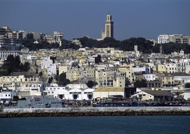 La ville de Tanger au Maroc