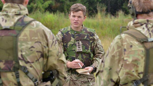 Des soldats de l'armée UK lors des entraînements - Sputnik France