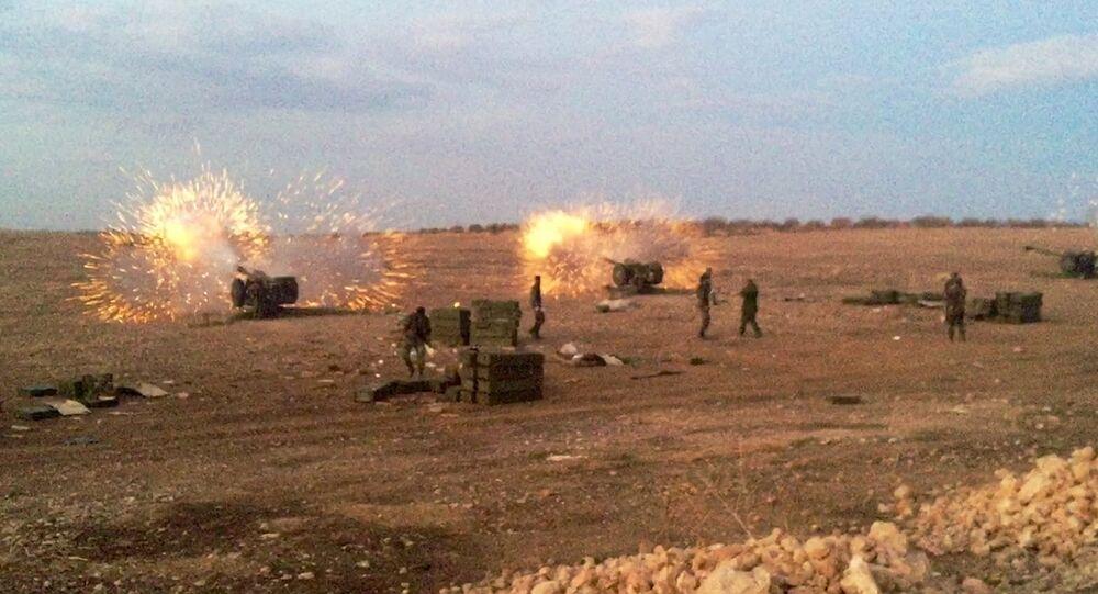 L'armée syrienne passe à l'offensive dans le nord de Hama