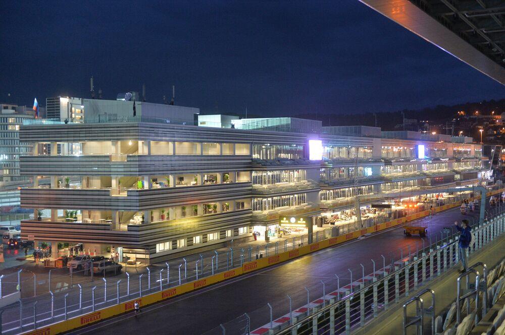 Formule 1: Sotchi à la veille du 2e GP de Russie