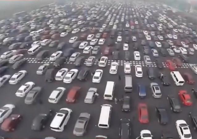 Les embouteillages en Chine, c'est fou