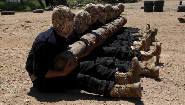 Combattants de l'Armée syrienne libre (ASL) - Sputnik France